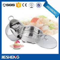 High quanlity stainless steel cooking pot set cookware set cook wares steamer set