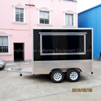 catering trailers mobile kitchen truck trailer fast food
