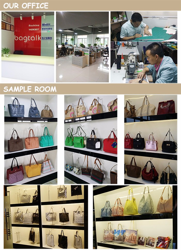 RESHINE HD10041 Stylish Designer Weave PU leather Women Bags Fashion Ladies Handbag