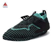 2017 Newly Designed Women Knit Shoe Uppers Summer Breathable Slip On Air Holes Mujer Running Sport Shoes Uppers