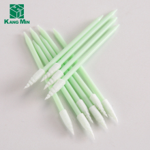 Plastic Stick Sponge Oral foam swab for industrial