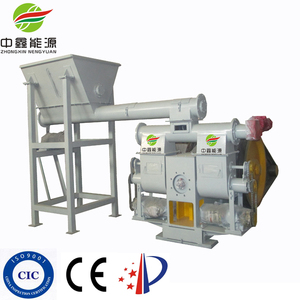 sawdust briquette machine with CE ISO9001