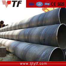 China supplier q235 q345 SSAW APcarbon spiral welded steel pipe for manufacture