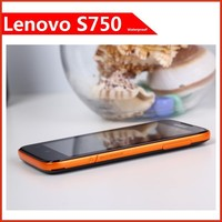 Original lenovo S750 Waterproof Smart Phone Quad core 1.2ghz 4.5 inch QHD Screen 1G RAM 4GB ROM 8.0mp 56 language