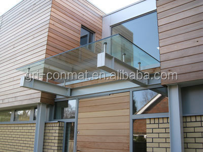 Lowest cost aluminum curtain wall manufacturers/curtain wall materials for fixed point glass curtain wall