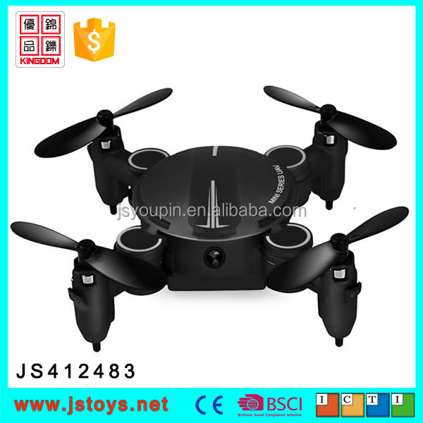 2.4G Foldable Mini four axle aircraft drone 2017