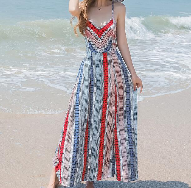 zm35312a New pattern bohemian long dresses women chiffon dresses