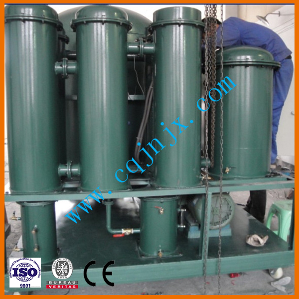 Desulfication turbine oil filter equipment