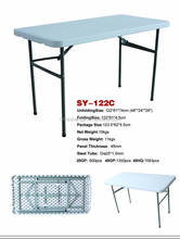 4ft dining banquet picnic meeting folding table