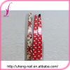 Customized printed pattern fancy/colour/stainless steel eyebrow tweezers