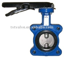 wafer type multi-standard butterfly valve