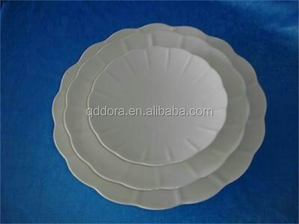 China supplier factory direct 2016 Porcelain egg tray, ceramic egg plates,hotel porcelain beautiful ceramic plate