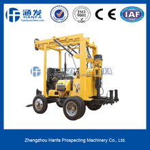 Inexpensive , Salable , Easy -handing Mobile Drill Well Rig , 600m Depth HF-3 Hydraulic Drilling Water Equipment