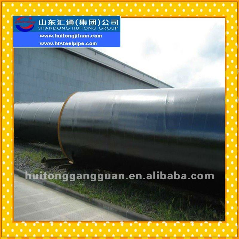 OD 219mm to 3600mm API 5L Gr.B,X42,X46,X52,X56,X60,X65,X70 PSL1 SAW/DSAW/SSAW/HSAW/LSAW/Spiral Black Welded Carbon Steel Pipe