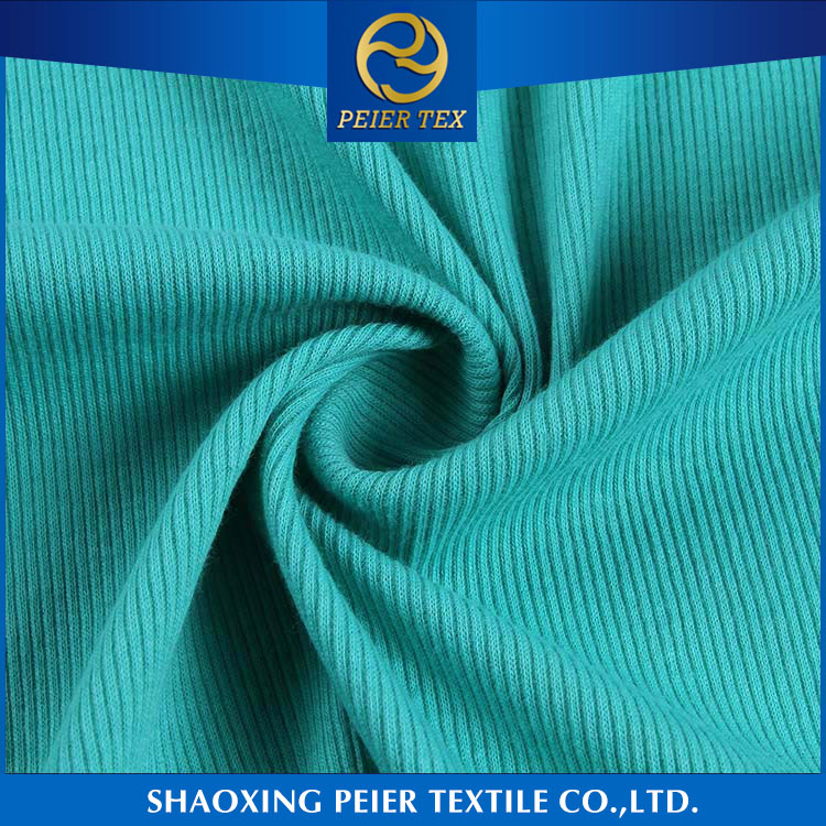 Fabric supplier shrink resistance cotton spandex for women cable knit fabric sweater fabric