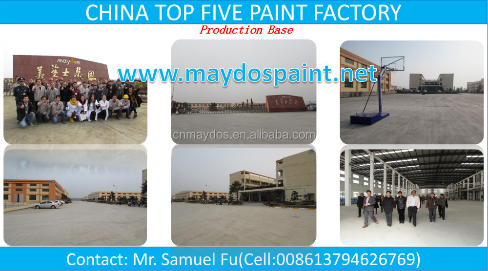 China TOP 5 Paint Supplier-Maydos Elastic Exterior Acrylic Emulsion Building Paint