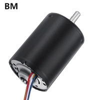 BM EC synchronous brushless DC Motor 12v 24v 10000rpm speed adjustable with controller phase wholesale