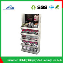 Cosmetics shop decoration retail display stand units