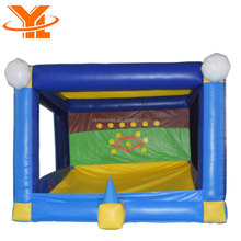 East Inflatable Games Batting Cage, Baseball Inflatables For Sale