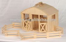 NEW grand wooden Horse barn /stable /doll house