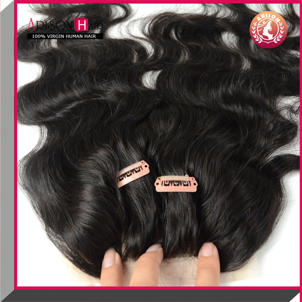 grade 7Avirgin brazilian closure straight lace closure remy lace front closure with baby hair