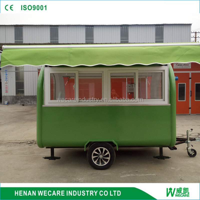wecare Mobile dark blue colored food carts