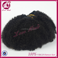 Factory price Grade AAAAA peruvian virgin human hair afro curl kinky curl weaving hair extension for black women wholesale