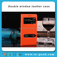 New Product Window View Smart Phone Case For Samsung Galaxy S3 I9300 Orange