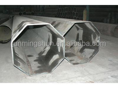 Special section shape steel pipe tube