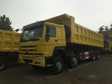 Howo 8x4 12 wheeler Tipper Truck Heavy Duty dumper low price dump truck