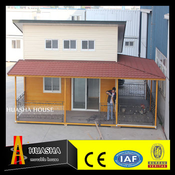 New style cheap sandwich panel prefab house villa
