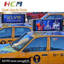 Hot Sale outdoor single color led display sign for taxi/bus/car advertising