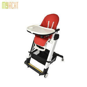Baby Portable Plastic Seat Kids Travel Foldable Washable highchair Infant High Dinning Safety Feeding High Chair