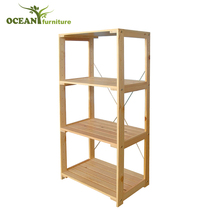Wholesale high quality wooden bookcase furniture