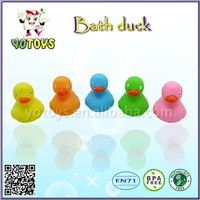 Promotional gifts colorful rubber ducks, rubber bath ducks, baby bath toys for kids