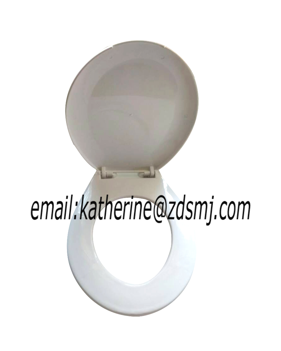Bathroom toilet seat round toilet seat beautiful custom design printed in plastic