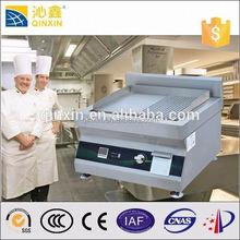 Commercial function of kitchen equipment stainless steel induction flat cast iron comercial bbq grill