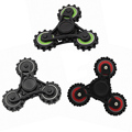 2017 Hot EDC Tri 360 Fidget Hand Spinner ABS Finger Toy Gear Wheel Spinner