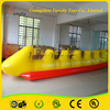 2016 new stlye kids and adult water games banana boat /fly fish tude/inflatable banana boat