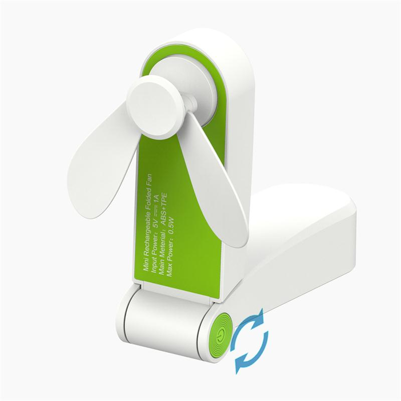 2018 Mini Foldable USB <strong>Fan</strong> Portable Pocket usb charging <strong>Fan</strong> for traveling