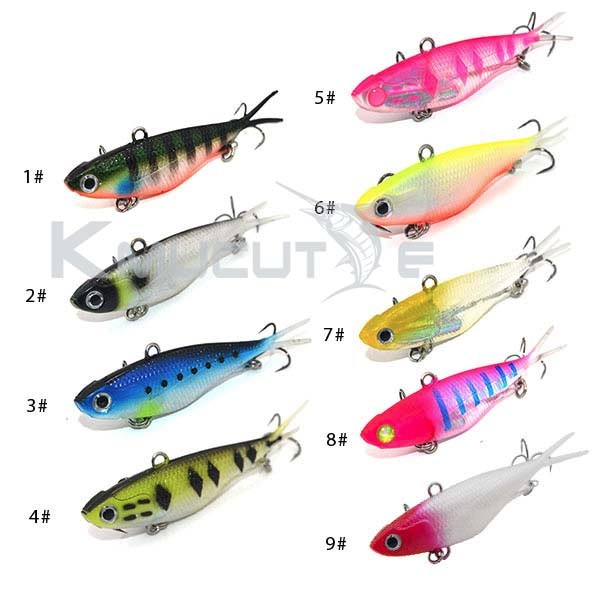 TPR Materials soft vibe lure new fishing lure lead jig bait metal jigging lure Kmucutie CS002-1