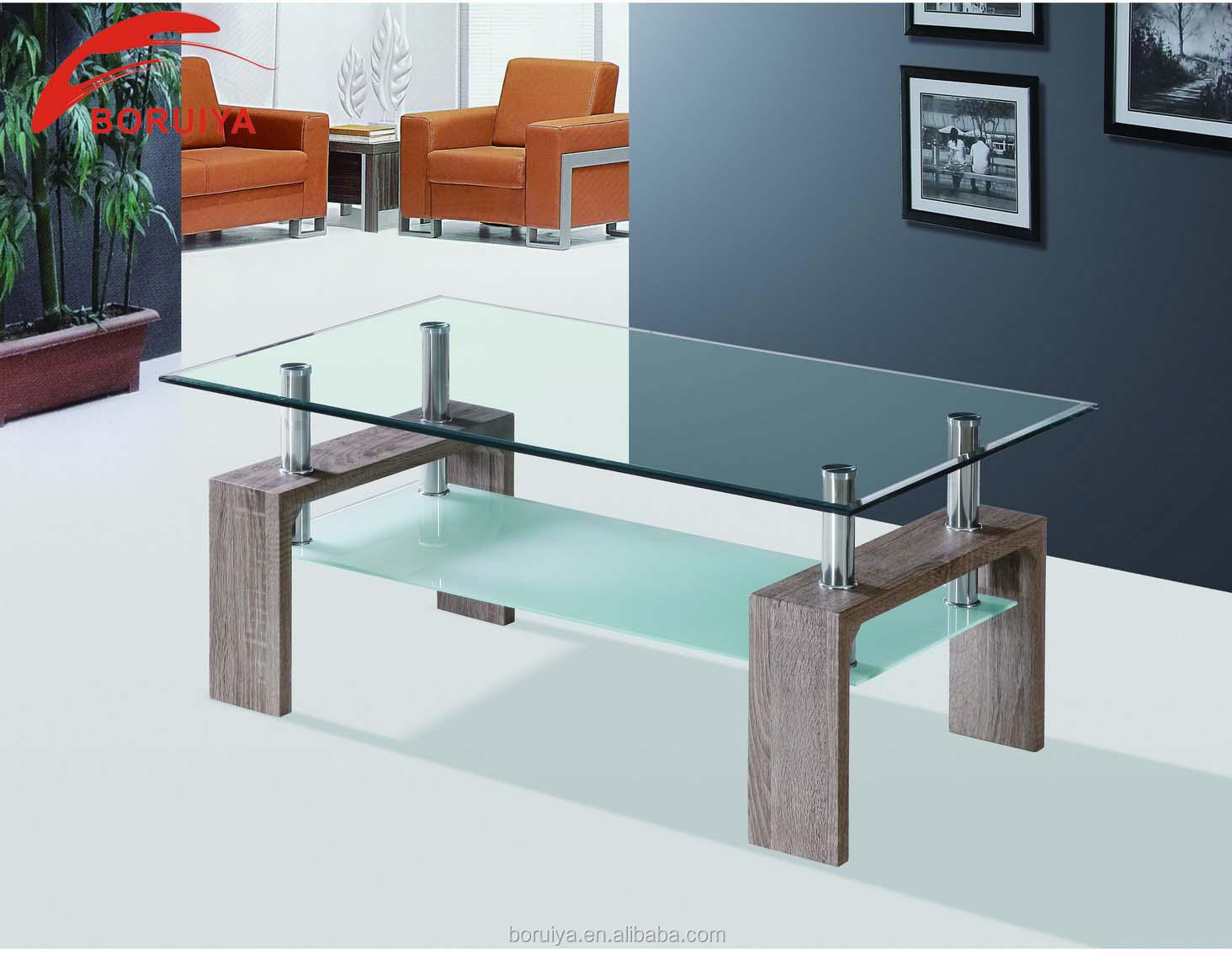 Glass top center table india crowdbuild for for Furniture table design examples