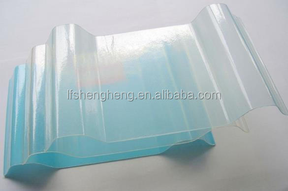 FRP transparent roof sheet/fiberglass clear rooing sheet/reinforce fiberglass roof sheets