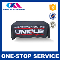 Custom business and company logo printing used tablecloths for sale