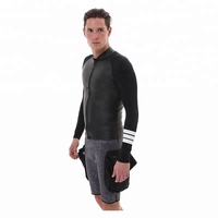 super stretch soft water sports custom neoprene smooth skin 3mm wetsuit jacket