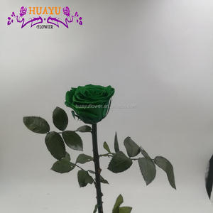 forever preserved rose with stem for wedding table centerpieces decoration