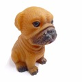 custom made bulldog dog figurines wholesale