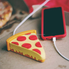 2017 Pizza power bank/food power bank/customized shaped phone chargers