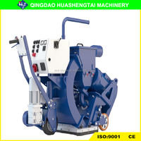 HST series mini sandblaster airfield runway cleaning machine