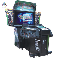 2 players Ghost Squad arcade electronic shooting game machine